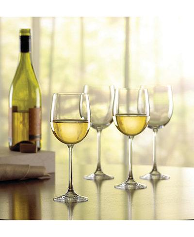 Lenox stemware tuscany classics chardonnay wine glasses set of 4 all glassware drinkware - Lenox colored wine glasses ...