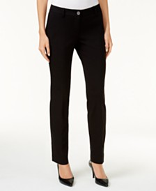 MICHAEL Michael Kors Miranda Stretch Slim-Leg Pants in Regular & Petite Sizes