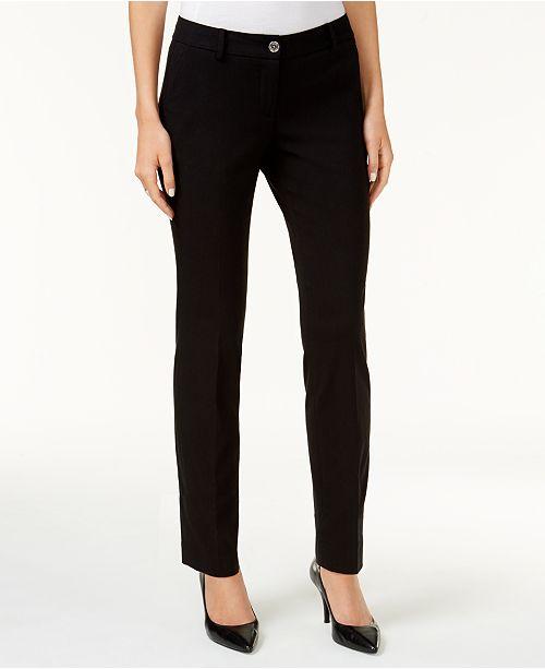 3bb7c1f4a616a ... Michael Kors Miranda Stretch Slim-Leg Pants in Regular   Petite Sizes  ...