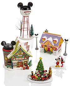Mickey's Christmas Village Collection