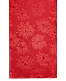 "Bardwil Winter Joy Red 70"" Runner"