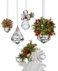 Ganz Kissing Krystals Ornament Collection