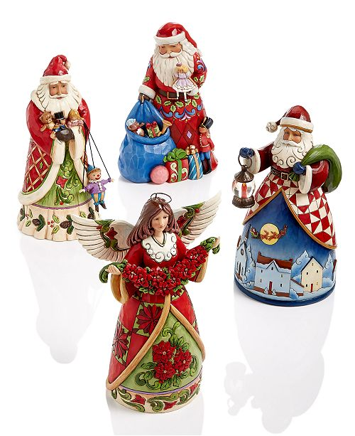 Jim Shore. Christmas Collectible Figurines Collection