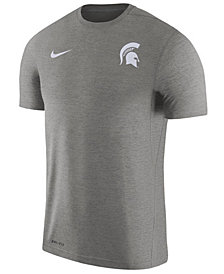Nike Men's Michigan State Spartans Dri-Fit Touch T-Shirt
