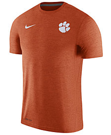 Nike Men's Clemson Tigers Dri-Fit Touch T-Shirt