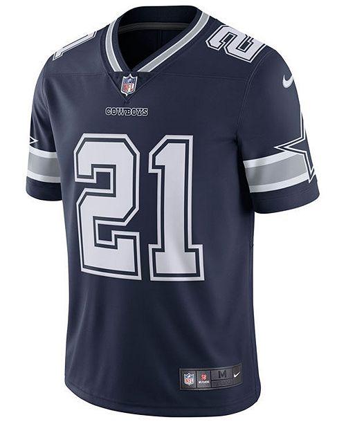 timeless design 960a5 5be76 Men's Ezekiel Elliott Dallas Cowboys Vapor Untouchable Limited Jersey