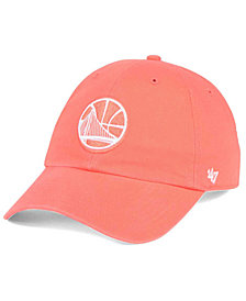 '47 Brand Golden State Warriors Pastel Rush CLEAN UP Cap
