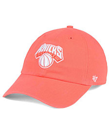 '47 Brand New York Knicks Pastel Rush CLEAN UP Cap