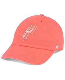 '47 Brand San Antonio Spurs Pastel Rush CLEAN UP Cap