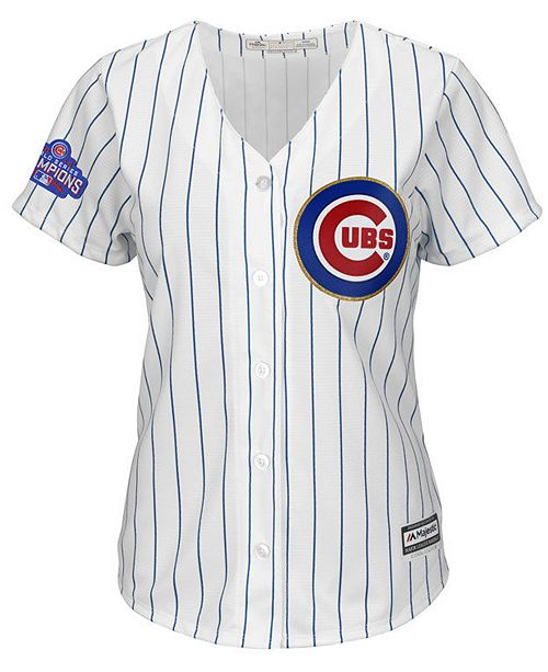 big sale fc771 83163 Majestic Women's Kris Bryant Chicago Cubs World Series Gold ...
