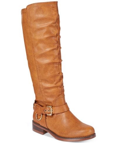 XOXO Mauricia Wide Calf Tall Boots