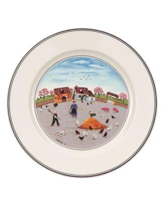 Dinnerware, Design Naif Salad Plate Country Yard