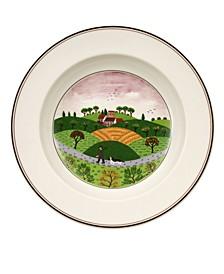 Design Naif Rim Soup Bowl Hunter & Dog
