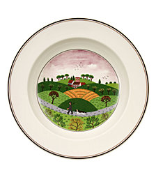 Villeroy & Boch Dinnerware, Design Naif Rim Soup Bowl Hunter & Dog