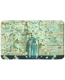 "Bacova Blossoms in Jar 22"" x 35"" Rectangular Accent Rug"