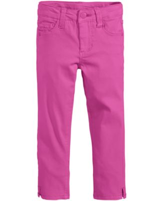 Image of Celebrity Pink Super Soft Colored Denim Jeans, Little Girls (4-6X)