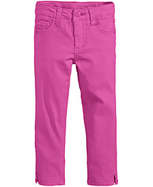 Celebrity Pink Super Soft Colored Denim Jeans, Toddler Girls
