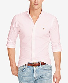 Slim-Fit Stretch-Oxford Shirt