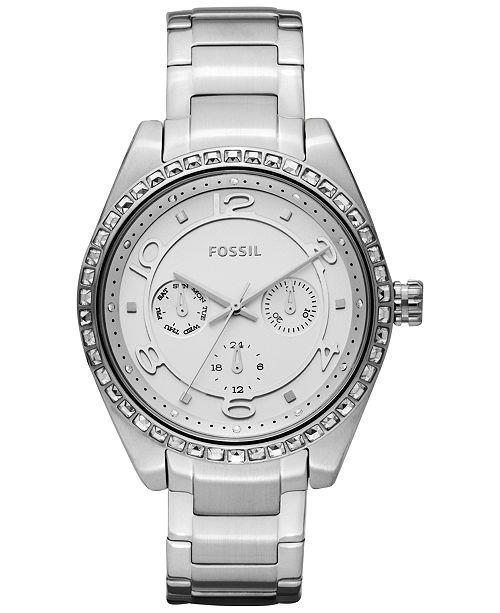Fossil Women's Carissa Stainless Steel Bracelet Watch 40mm