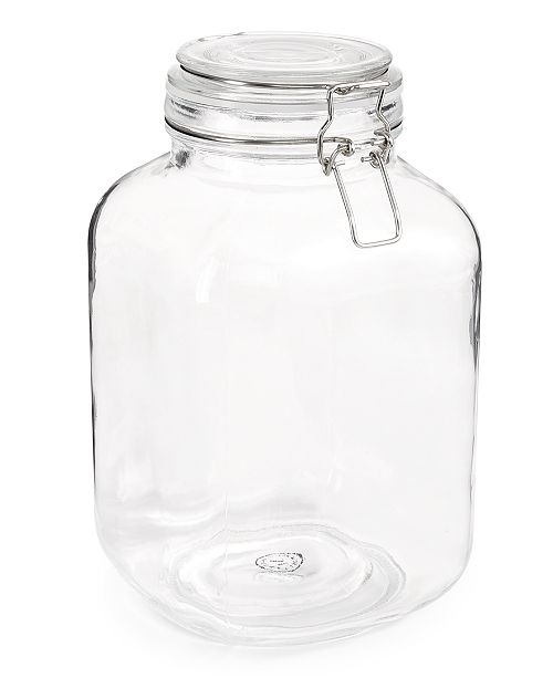 Martha Stewart Collection 101-Oz. Hemetic Canister, Created for Macy's