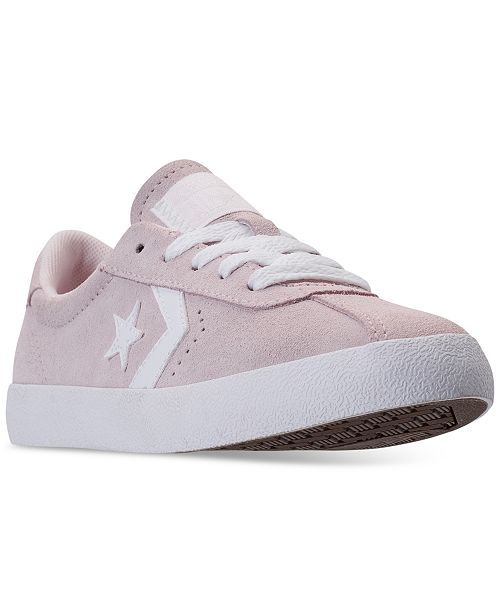 caeed2bc6e9109 ... Converse Big Girls  Breakpoint Suede Casual Sneakers from Finish ...