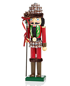 "Holiday Lane 15"" Wood Forest Nutcracker, Created for Macy's"