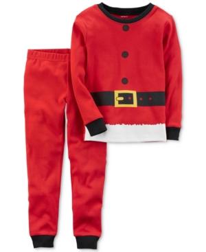 Carters 2Pc Santa Cotton Pajama Set Baby Boys (024 months)