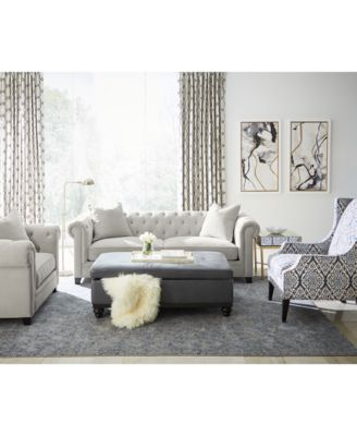 "Martha Stewart Collection Saybridge 92"" Fabric Sofa Created for"