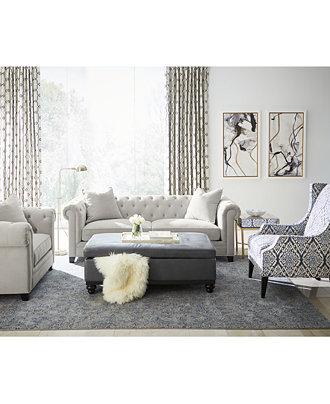 Martha Stewart Saybridge Living Room Furniture Collection ...