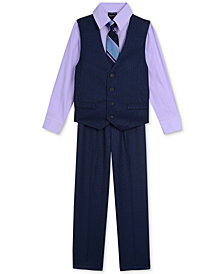 Nautica 4-Pc. Vest Set, Baby Boys