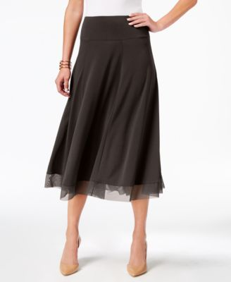 Black Aline Skirt: Shop Black Aline Skirt - Macy's