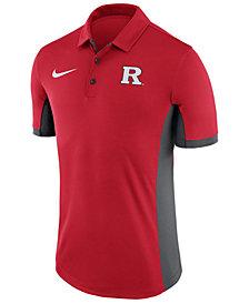 Nike Men's Rutgers Scarlet Knights Evergreen Polo