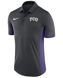 Nike Men's TCU Horned Frogs Evergreen Polo