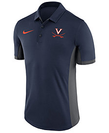 Nike Men's Virginia Cavaliers Evergreen Polo