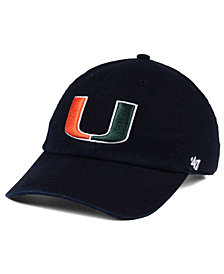 '47 Brand Miami Hurricanes CLEAN UP Cap