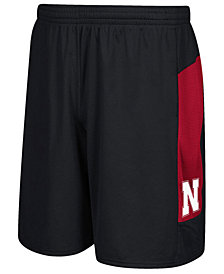 adidas Men's Nebraska Cornhuskers Sideline Shorts