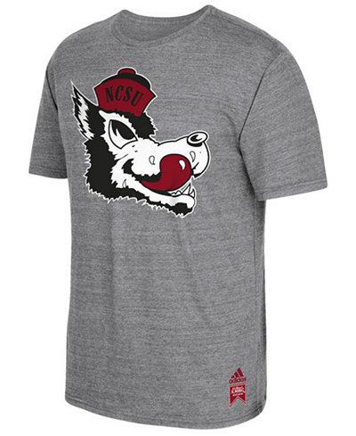 adidas Men's North Carolina State Wolfpack Vintage Logo T-Shirt