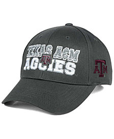 Top of the World Texas A&M Aggies Charcoal Teamwork Snapback Cap
