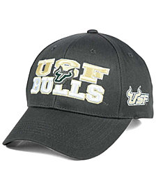 Top of the World South Florida Bulls Charcoal Teamwork Snapback Cap