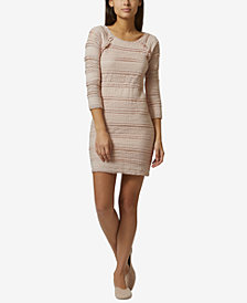 Avec Les Filles Lace Mini Dress
