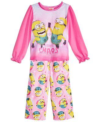 Despicable Me 2-Pc. Chaos Pajama Set, Toddler Girls
