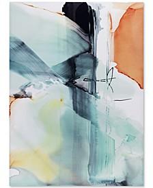 Madison Park Blue Skies Gel-Coated Canvas Print
