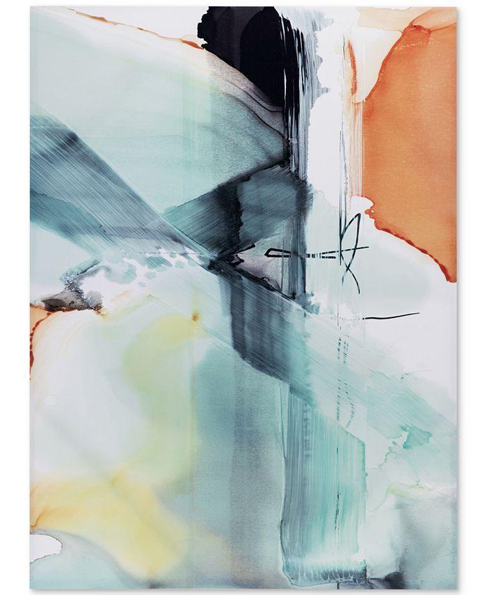 JLA Home - Blue Skies Gel-Coated Canvas Print