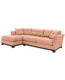 Michelle 2-Pc. Sectional, Created for Macy's