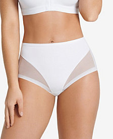 Leonisa Women's  Light Control Mesh-Panel Brief 012657