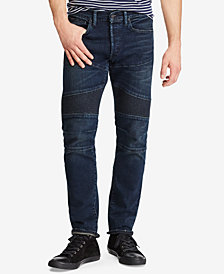 Polo Ralph Lauren Men's Stretch Moto Jeans