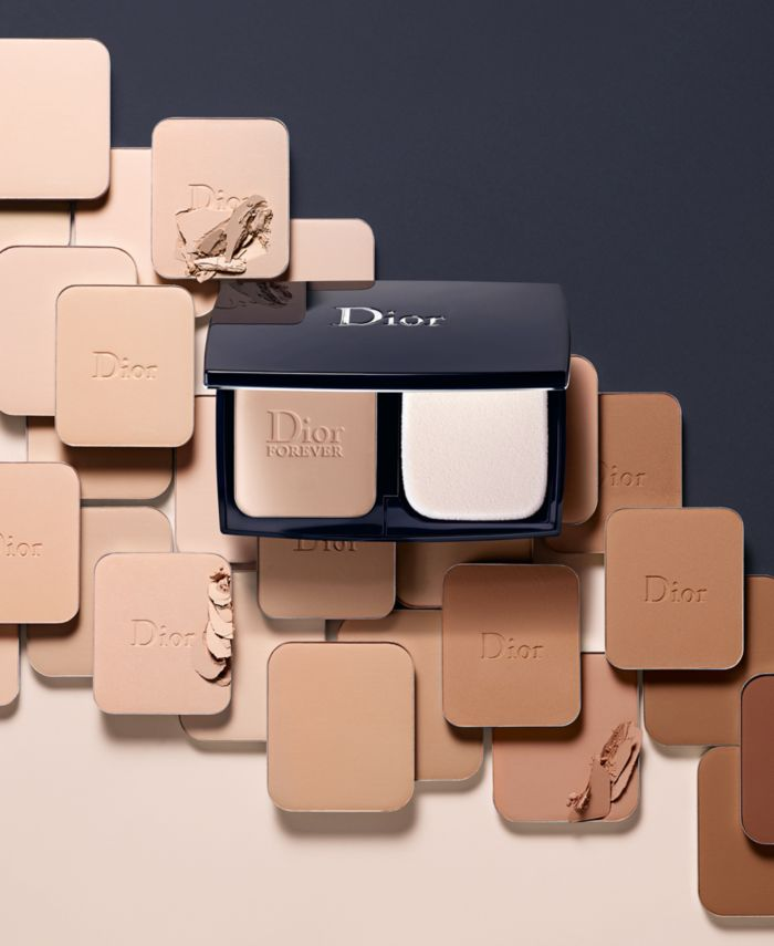 Dior Diorskin Forever Extreme Control Powder Compact Foundation, 0.35 oz & Reviews - Foundation - Beauty - Macy's