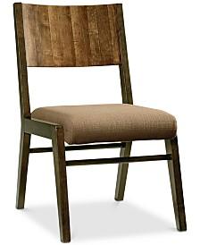 Ashton Wood Back Side Chair