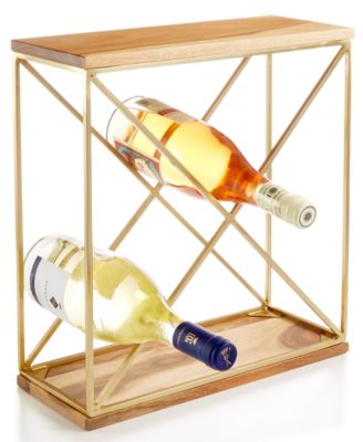 CLOSEOUT! Barware with a Twist Wine Rack, Created for Macy's