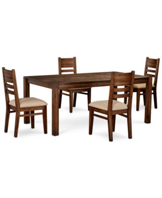 "Avondale Large Dining, 5-Pc. Set (72"" Dining Table & 4 Side Chairs), Created for Macy's"